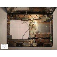 *Б/У* Поддон (нижний корпус, D cover) для ноутбука DNS 117116 (6-39-M7703-01X) (BUR0023-7)