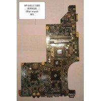 Материнская плата для ноутбука HP DV6-3110ER  (DA0LX8MB6D1 Rev. D), неисправная, б/у [BUR0028-15]