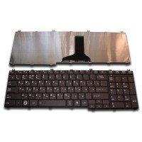 Клавиатура для ноутбука Toshiba Satellite C650, C660, C670, C750, L650, L670, L750, L770 (RU) черная [10011]