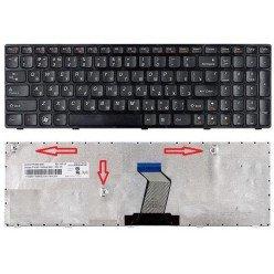 *Сломан Ctrl* Клавиатура Lenovo IdeaPad B570, B590, V570, Z570, Z575 (RU) черная [00065-CTRL]