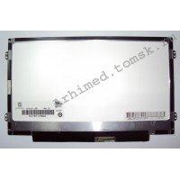"""Матрица 10.1"""" slim N101L6-L0D (LED, 1024x600, 40pin, справа снизу на доп.панели, глянцевая) [m10102-1]"""