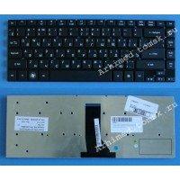 Клавиатура для ноутбука Acer Aspire 3830, 3830G, 3830T, 3830TG, 4830, 4830T, 4830TG (RU) черная, без рамки [10031]