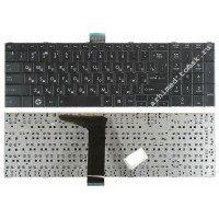 Клавиатура для ноутбука Toshiba Satellite C850, C870, C875 (RU) черная [10066]