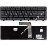 Клавиатура для ноутбука Dell Inspiron L702X N5110 M5110 (RU) черная [10081]