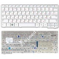 Клавиатура для ноутбука Samsung N140, N150, N145, N144, N148 (RU) белая [10073]