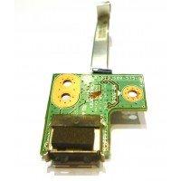 *Б/У* USB плата для ноутбука HP Pavilion G62 G72 CQ62 (01013JS00-575-G) [BUR0031-4], с разбора