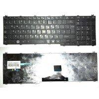 *Б/У* Клавиатура для ноутбука Toshiba Satellite C650, C660, C670, C750, L650, L670, L750, L770 (RU) черная (PK130CK3A11) [BUR0044-9], с разбора. Не работает.