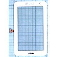 Сенсорное стекло (тачскрин) Samsung Galaxy Tab 7.0 Plus P6200 белое [T0018]