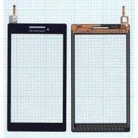 Сенсорное стекло (тачскрин) Lenovo Tab 2 A7-10 черное [T0205]